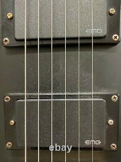 Esp Ltd Ec-1000 W11080348 Deluxe Guitare Électrique Black & Gold État Rapport