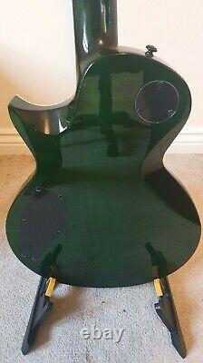 Esp Ltd Ec-1000fm Deluxe Voir Thru Green Fantastic Condition