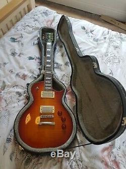 Esp Ltd Ec-1000t Guitare Ambre Burst Excellent Etat