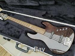 Esp Ltd Elite J5 5 Cordes Jazz Bass Made In Japan Très Bon État Et Joueur