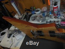 Esp Ltd Fx 260sm Spalt Maple Top Forme Explorateur Beau Bois Vgc