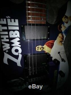 Esp Ltd Kh-wz White Zombie Kirk Hammett Excellent Etat
