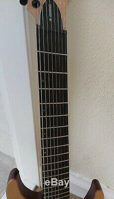 Esp Ltd M1008ms 8 Cordes Guitare Électrique Parfait État Reduction Finale