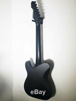 Esp Ltd Te-417 Telecaster 7 Cordes De Guitare Électrique Satin Blackmint Condition
