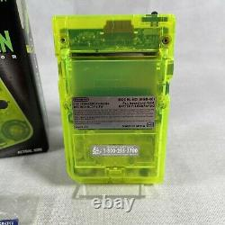 Extreme Green Edition Limitée Nintendo Gameboy Pocket. Encadré. Joli État