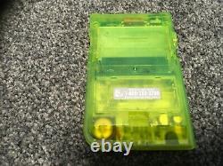 Extreme Green Limited Edition Nintendo Gameboy Pocket. Boîte. État De Nice