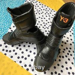 Extrêmement Rare 2003 Adidas Y-3 Yamamoto Entraîneurs / Bottes Taille 6 Mint Condition