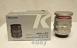 F2.8-4 Ed Ltd DC Wr Argent Mint Condition Pentax Hd Da (prix Réduit)