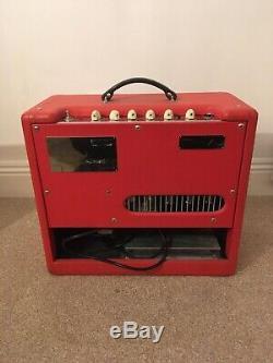 Fender Blues Junior III Ampère Ltd Edition Texas Red Utilisé, Mais Très Bon État