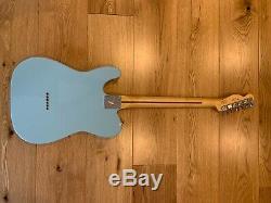 Fender Telecaster Lecteur, Limited Edition, Daphne Bleu, Mint Condition