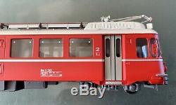 Ferro Suisse Hom Laiton Rhb Be4 / 4 4 Voiture Pendelzug Superbe État Série Limitée