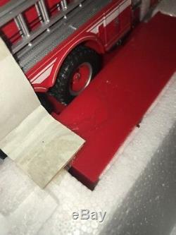 Franklin Mint - Moteur De Camion De Pompier Noce Snorkel N ° 1 - Échelle 1/32 État Neuf