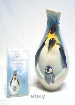 Franz Vase Penguins Ludiques 2010 Privilege Club Excellent État