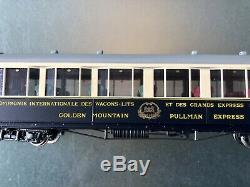 Fulgurex Mob Fze6 / 6 Hom & 4 Wagons Lits Pullman Express Voitures Excellent Etat