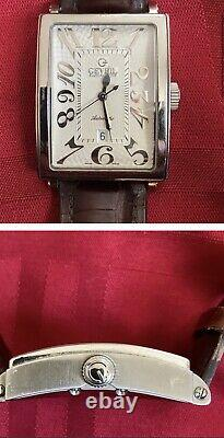 Gevril Avenue Of The Americas Swiss Automatic Mens Watch. 5007a. Grande Condition