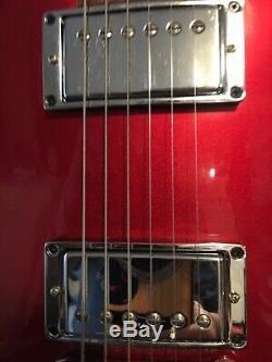 Gibson Limited Edition, Rare Les Paul Nitrous Vibrant Red Mint Condition Avec Hsc