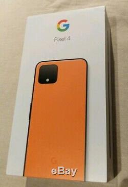 Google Pixel 4 (64 Go, Oh So Orange Ltd Edition, Unlocked) Parfait État