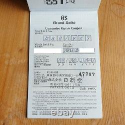 Grand Seiko Sbga447 Spring Drive Ginza Edition Limitée 2021 Immaculée Condition