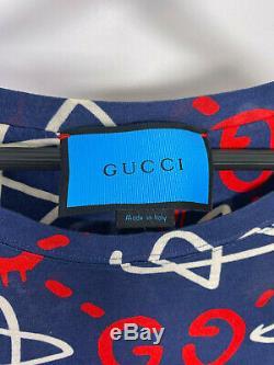 Gucci Fantôme T-shirt Limited Edition Artiste Problème Andrew Parfait Etat