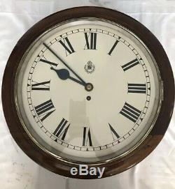 Horloge Murale Raf Ww2 De F. W Elliott Ltd, 1941, Excellent État