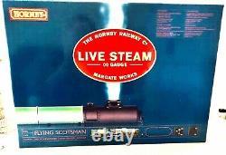 Hornby 00 Gauge Live Steam R1058 Flying Scotsman Set- Excellent État