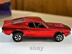 Hot Wheels Redline 1968 Custom Mustang Us Great Condition En Protecteur
