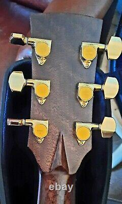 Ibanez Avd16 Ltd. Guitare Acoustique. Superbe État. Avec Cas Dur D'origine