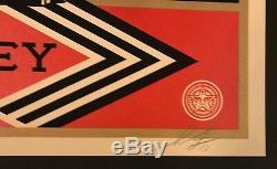 Infini De Puissance Shepard Fairey Signed / Numéroté Mint Condition