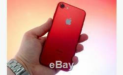 Iphone 7 128go Limited Edition Rouge Du Produit Pristine Condition