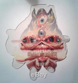 Iron Maiden Clairvoyant Picture Shape Est Unique En Son Genre!
