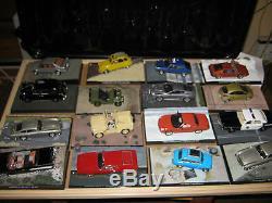 James Bond Car Collection 30 X 007 Modèles Moulés Sous Pression, Tous En Parfait État
