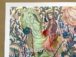James Jean Horse IV Affiche D'art Giclée En Édition Limitée Signée Forme Adrift