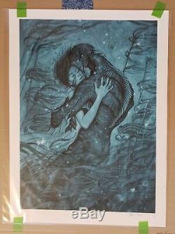 James Jean La Forme De L'eau Print Edition Limitée N ° 147 Signée / Numérotée