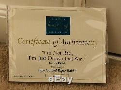 Jessica Rabbit Wdcc Limited Edition Figurine Bnib Rare Etat Neuf