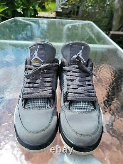 Jordan 4 Retro Cool Grey 2019 Taille 10.5 Parfait État Vnds