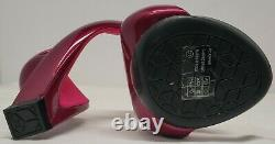 Julian Hakes Mojito Hot Pink / Fuschia Taille 39 Excellente Condition Utilisée