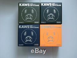 Kaws Cat Bank Jeu Complet De 4 400 2007 Ltd Mint Condition