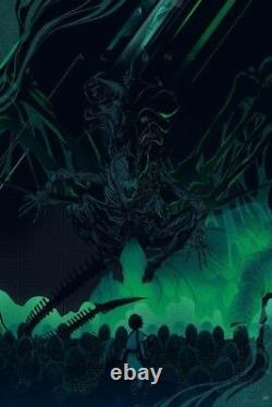 Kevin Tong Aliens Mondo Édition Limitée Complet Great Condition! Extraterrestre