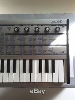Korg Microkorg Limited Edition Argent Synthétiseur, Excellent État