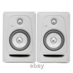 Krk Rokit Rp5 G3 White Noise Edition Limitée Great Boîtes Condition + Câbles