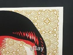 La Paix Mujer Shepard Fairey Illustrateurs Proof Mint Condition Obey Géant