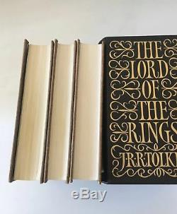 Le Seigneur Des Anneaux J. R. Tolkien Folio Édition Limitée Fin Etat Neuf