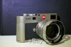 Leica M9 Titanium Titan Summilux-m Édition Limitée / Mint Condition