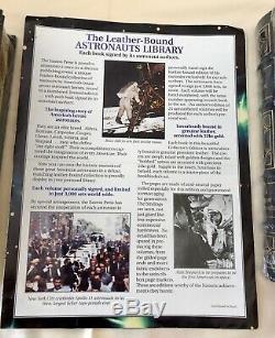 Les Astronautes Bibliothèque Easton Press 6 Volumes Pristine Condition Signed