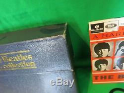 Les Beatles E. Collection Uk Original Bep-14 Blue Box Set Excellent Condition