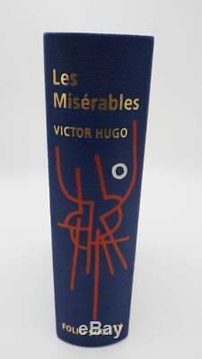 Les Misérables Limited Edition Relié En Cuir, Très Bon État Du Livre, Victo