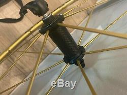 Limited Edition Campagnolo Shamal Ultra Or Clincher Wheelset Great Condition