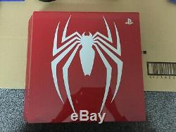 Limited Edition Rouge Étonnant Marvels Spider-man 1tb Ps4 Pro Pristine Condition