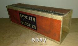 Lionel 226e Vapeur D'avant-guerre Loco + 2226w Diecast Tendre Vintage Set Grande Forme