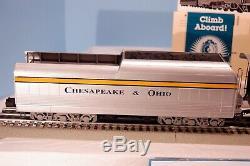 Lionel 6-18043 C & O Demi-échelle Hudson Loco & Tender. Testé. Exc Condition Dans La Zone
